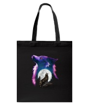 Couple Wolf Light Tote Bag thumbnail