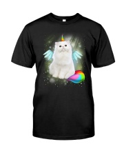 Cat Unicorn Cute 2006 Classic T-Shirt front