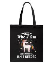 Unicorn Who I Am 2407 Tote Bag thumbnail