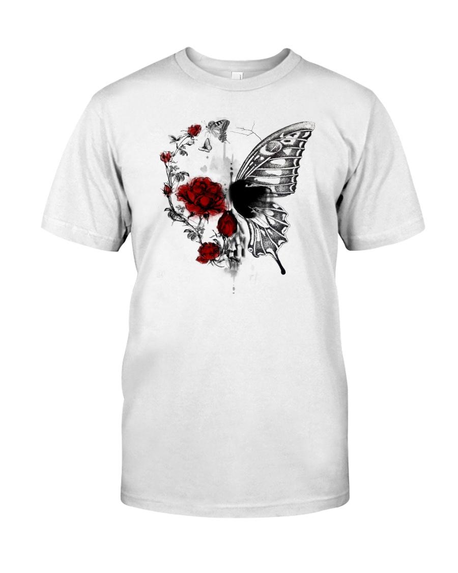 Skull art 1806D Classic T-Shirt