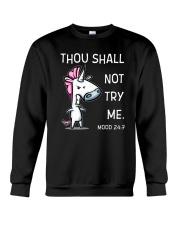 Unicorn Not Try Me  Crewneck Sweatshirt thumbnail