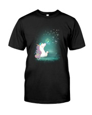 Unicorn - Do not fly Classic T-Shirt front