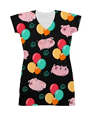 Pig Bubble  All-over Dress thumbnail