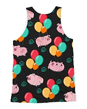 Pig Bubble  All-over Unisex Tank back