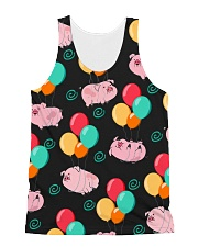 Pig Bubble  All-over Unisex Tank front