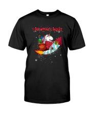 Unicorn I Do What I Want 2609 Classic T-Shirt thumbnail