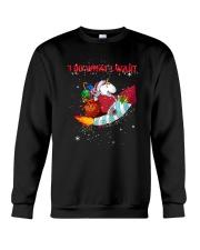 Unicorn I Do What I Want 2609 Crewneck Sweatshirt thumbnail
