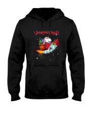 Unicorn I Do What I Want 2609 Hooded Sweatshirt front
