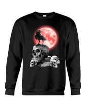 Skull gothic Crewneck Sweatshirt thumbnail