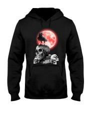 Skull gothic Hooded Sweatshirt thumbnail
