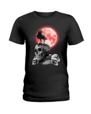 Skull gothic Ladies T-Shirt thumbnail