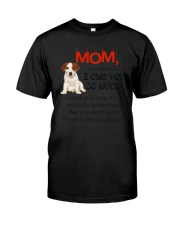 Jack Russell Terrier - I owe you Mom 1806P Classic T-Shirt thumbnail