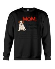 Jack Russell Terrier - I owe you Mom 1806P Crewneck Sweatshirt thumbnail