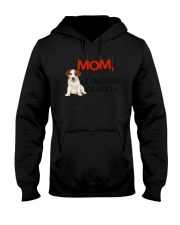 Jack Russell Terrier - I owe you Mom 1806P Hooded Sweatshirt thumbnail