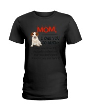 Jack Russell Terrier - I owe you Mom 1806P Ladies T-Shirt thumbnail