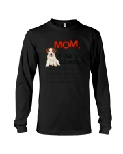 Jack Russell Terrier - I owe you Mom 1806P Long Sleeve Tee thumbnail
