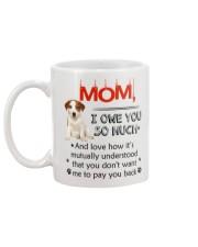 Jack Russell Terrier - I owe you Mom 1806P Mug back