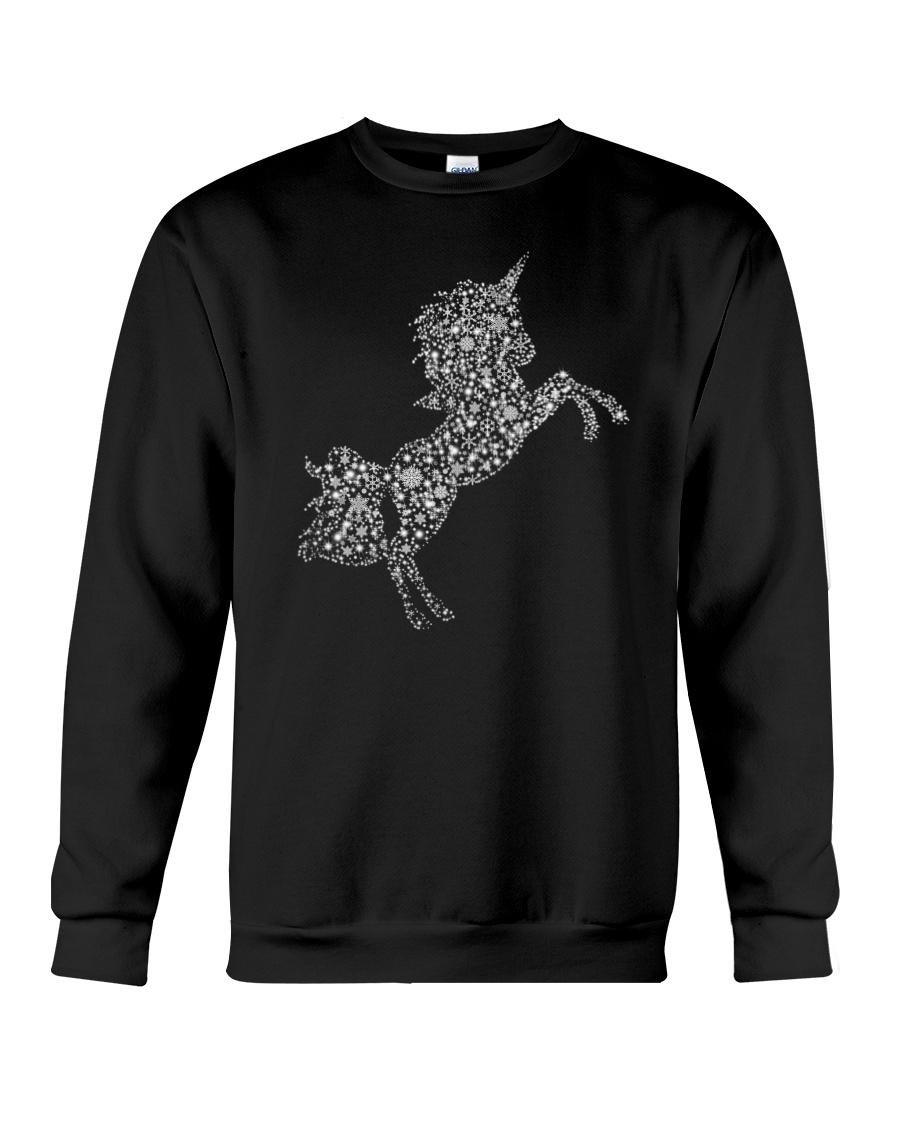 Unicorn Snowflake Crewneck Sweatshirt