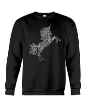 Unicorn Snowflake Crewneck Sweatshirt front