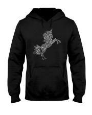 Unicorn Snowflake Hooded Sweatshirt thumbnail