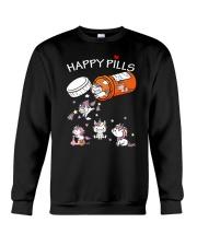 Unicorn Happy Crewneck Sweatshirt thumbnail