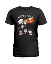 Unicorn Happy Ladies T-Shirt thumbnail