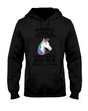 Unicorn Crazy Mom 140319 Hooded Sweatshirt thumbnail