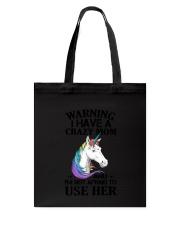 Unicorn Crazy Mom 140319 Tote Bag thumbnail