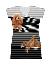 Poodle Striped  All-over Dress thumbnail