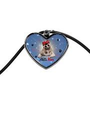 Akita mom 2106P Cord Heart Necklace thumbnail