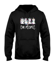 Unicorn and people Hooded Sweatshirt thumbnail