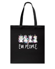 Unicorn and people Tote Bag thumbnail
