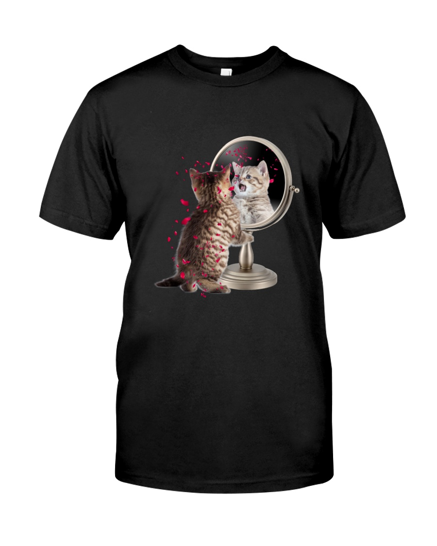 Cat Mirror Classic T-Shirt