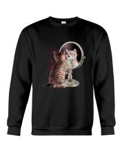 Cat Mirror Crewneck Sweatshirt thumbnail