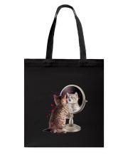 Cat Mirror Tote Bag thumbnail