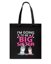 Big Sister Unicorn Tote Bag thumbnail