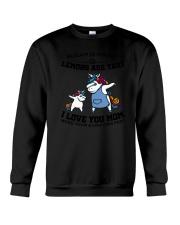 Unicorn Mom Mug Crewneck Sweatshirt thumbnail