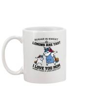 Unicorn Mom Mug Mug back