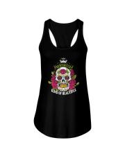 Skull Beautiful Ladies Flowy Tank thumbnail