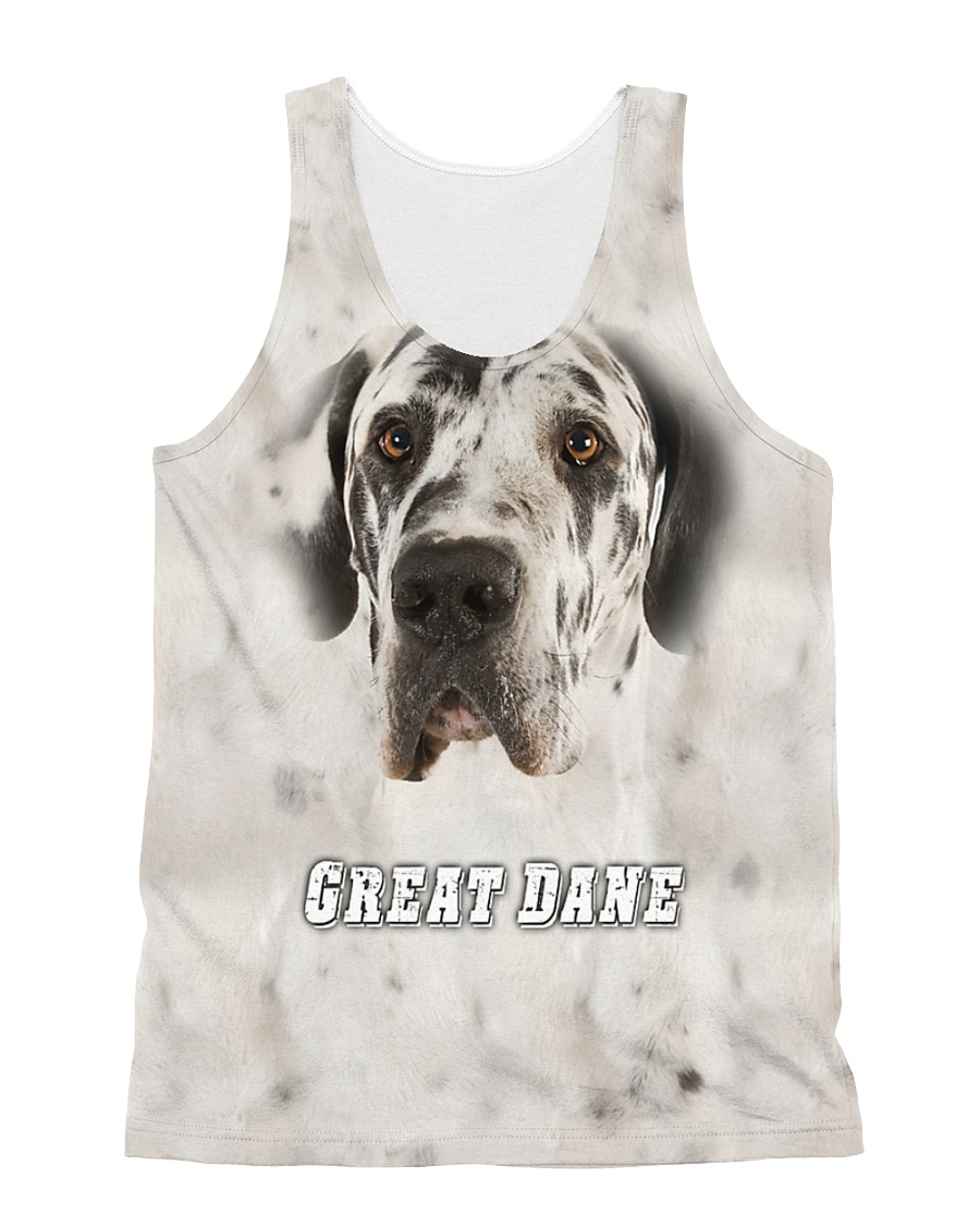 Great Dane Cool 1606 All-over Unisex Tank