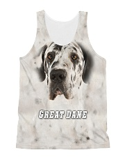 Great Dane Cool 1606 All-over Unisex Tank front