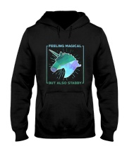 Unicorn Stabby Hooded Sweatshirt thumbnail