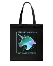 Unicorn Stabby Tote Bag thumbnail