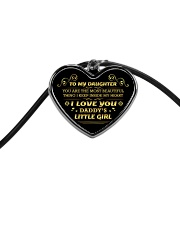 Daddys little girl 2106L Cord Heart Necklace thumbnail