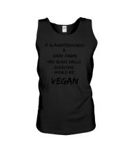 Everyone would be vegan 1806L Unisex Tank thumbnail