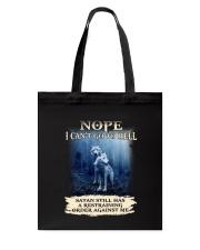 Wolf Nope 1906 Tote Bag thumbnail