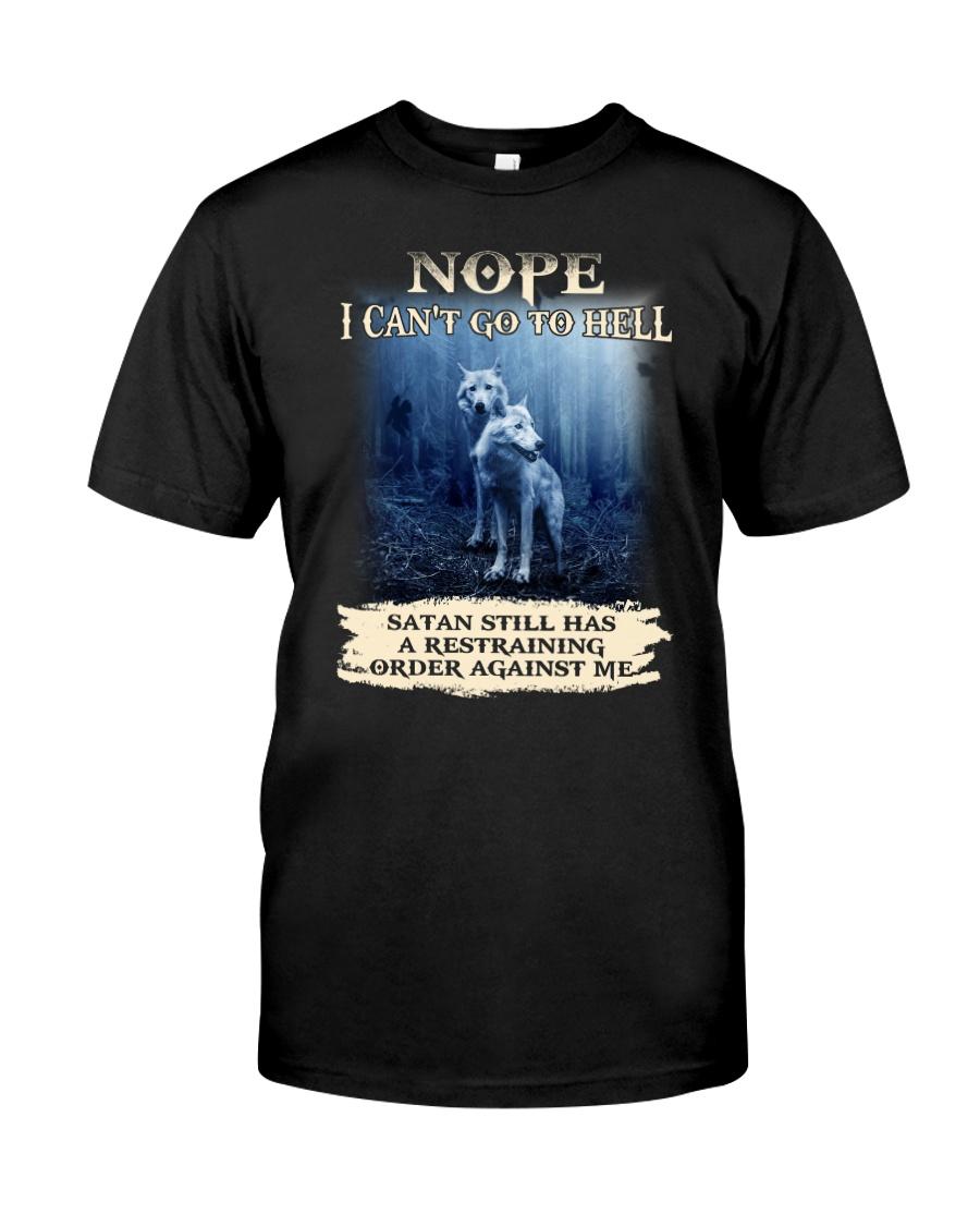 Wolf Nope 1906 Classic T-Shirt