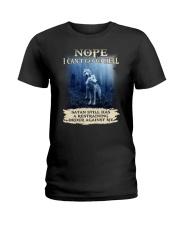 Wolf Nope 1906 Ladies T-Shirt thumbnail