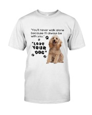 Poodle With You Classic T-Shirt thumbnail