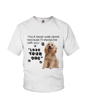 Poodle With You Youth T-Shirt thumbnail